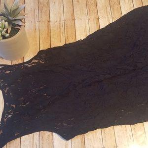 Vans black lace dress